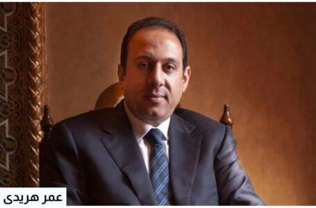 عمر هريدى يقدم التعازى  لاسر ضحايا المحامين